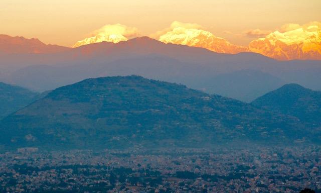 Lever soleil Pokhara