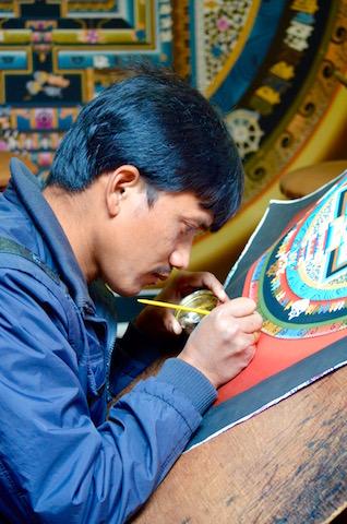 Peinture Thangka