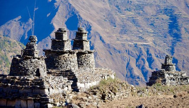 Tombeaux / Népal