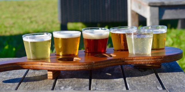 Bieres partagees / sur la route