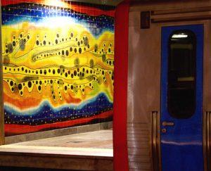 Metro a Lisbonne