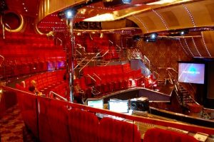 Salle spectacle croisiere