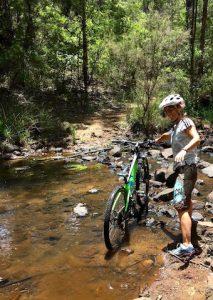 Bike à Magaret River