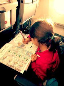 Dessiner enfants et avion