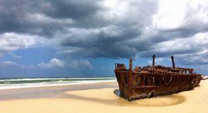 Epave Fraser Island East Coast