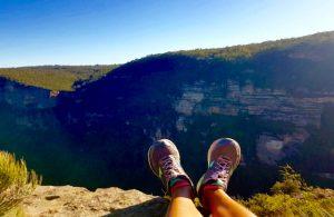 sport et voyage pied montagne