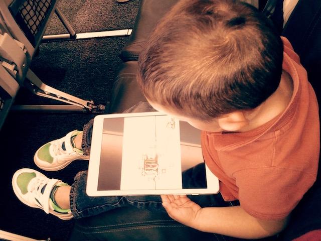 Technologie enfants et avion