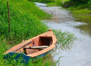 Barque canal le Calebassier