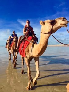 Broome camel trip
