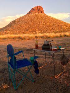 Free camp (après Port Hedland) West Coast