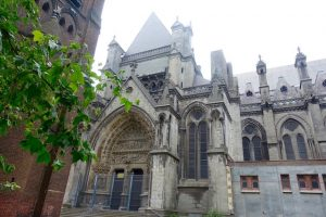 Portail Cathedrale Treille Lille