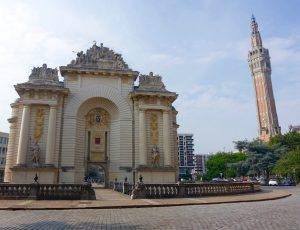 Porte Paris Beffroi Lille