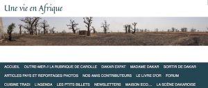Site unevieenafrique partenaires