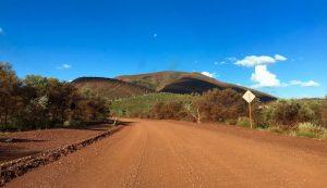 route pour Karijini NP West Coast