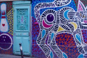Art street canal Saint Martin