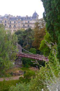 Pont suspendu Buttes Chaumont