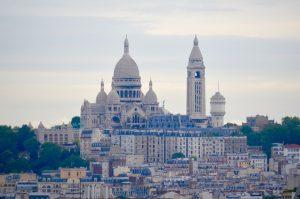 Vue Montmartre Buttes Chaumont