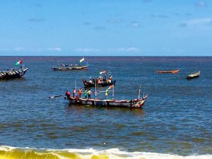 Bateaux peche Cote d'Ivoire
