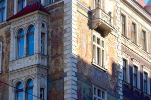 Fresque murale Architecture