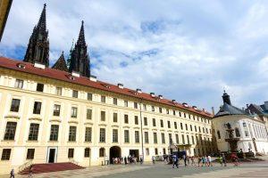 Palais architecture Prague
