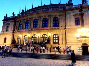Rudolfinum architecture Prague