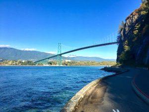 Pont Lions Gate Bridge Vancouver