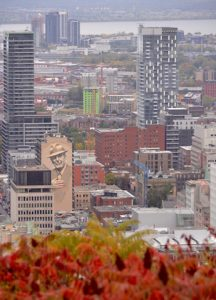 Belvedere Kondiaronk Mont Royal Montreal