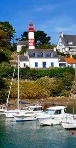 Doelan phare en terre bretonne