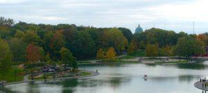 Lac aux Castors et oratoire st Joseph