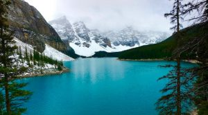 Moraine Lake Rocheuses canadiennes