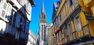 Quimper cathédrale St Corentin Cornouaille