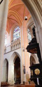 Transept St Corentin Quimper Cornouaille