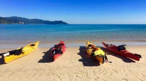 Kayak Park Abel Tasman