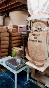 Farine de sarrasin ou ble noir