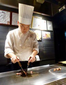 Cuisinier a Kobe