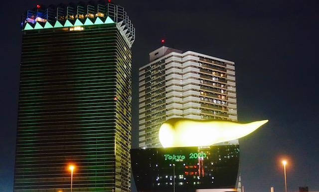 Flamme olympique - Périple au Japon