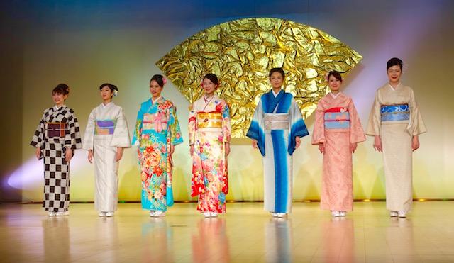 Defile de Kimono
