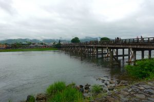 Pont Togetsukyo - nord de Kyoto