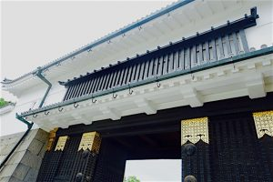 Porte chateau Nijo-jo