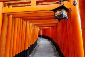 route de fushimi - sud de Kyoto