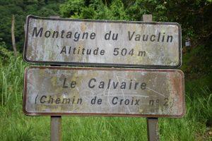 Depart - Montagne du Vauclin