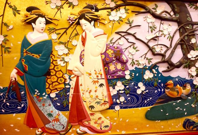 Fresque murale Manga