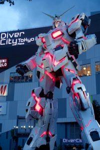 Gundam - Diver City Place - Tokyo