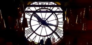 Horloge d'Orsay - un week-end a Paris