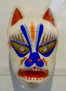 Renard - Masque - Musee quai Branly - un week-end a Paris