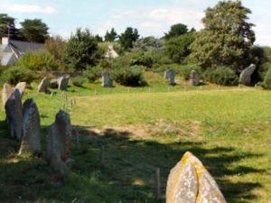 Menhirs - sites prehistoriques