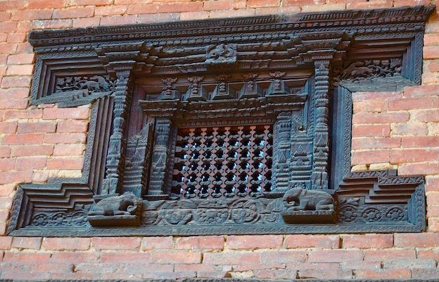 Fenetre Bhaktapur