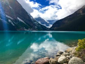 Photo et rando - Lake Louise Rocheuses canadiennes