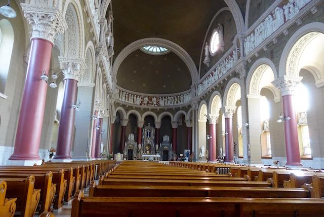 Nef Nativite Sainte Vierge Hochelaga