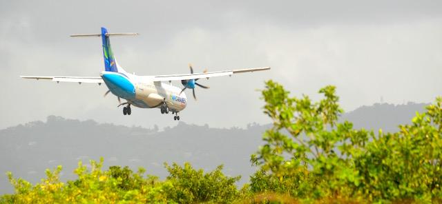 avion depart